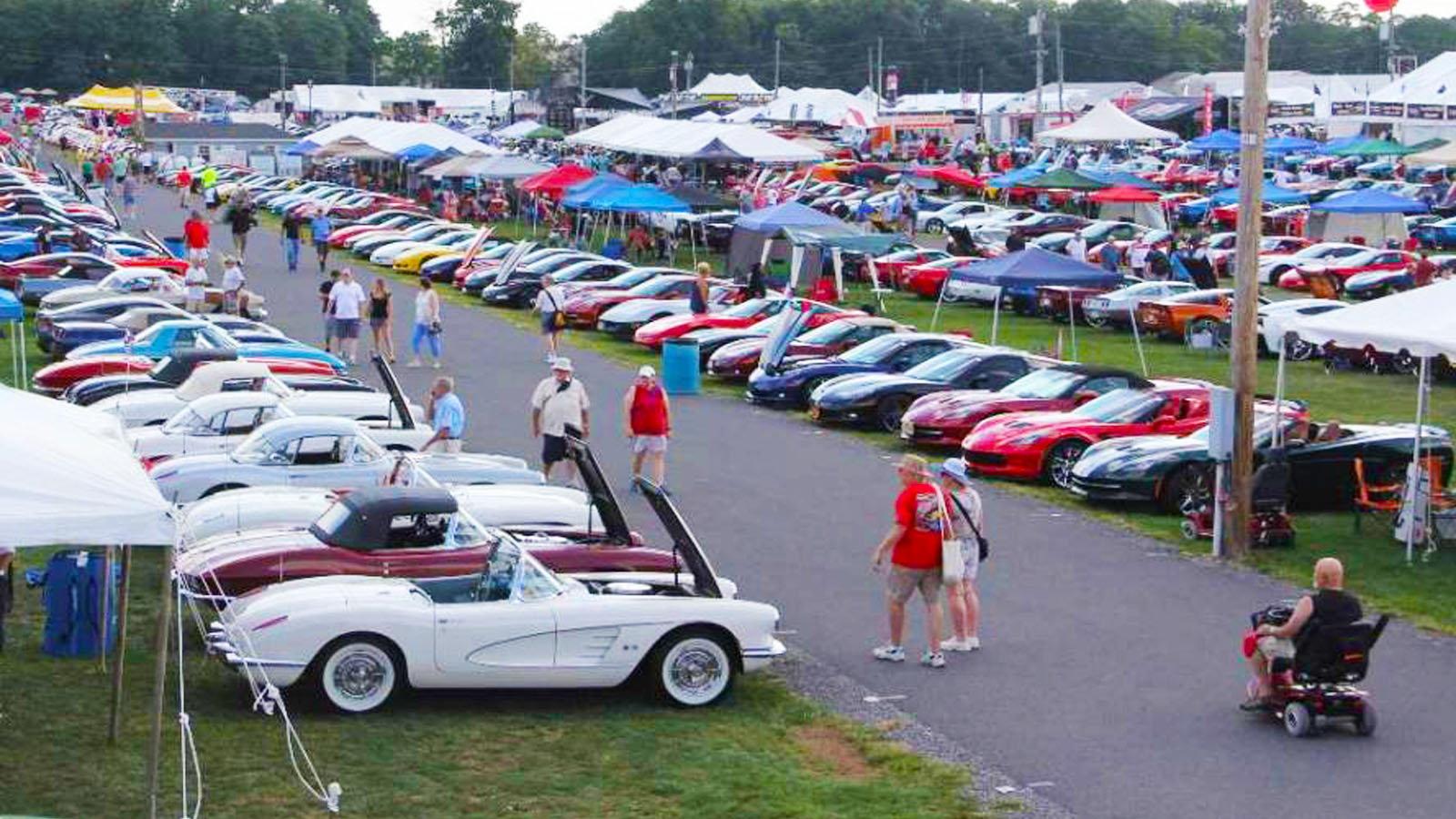 Corvette Meet Carlisle Pennsylvania