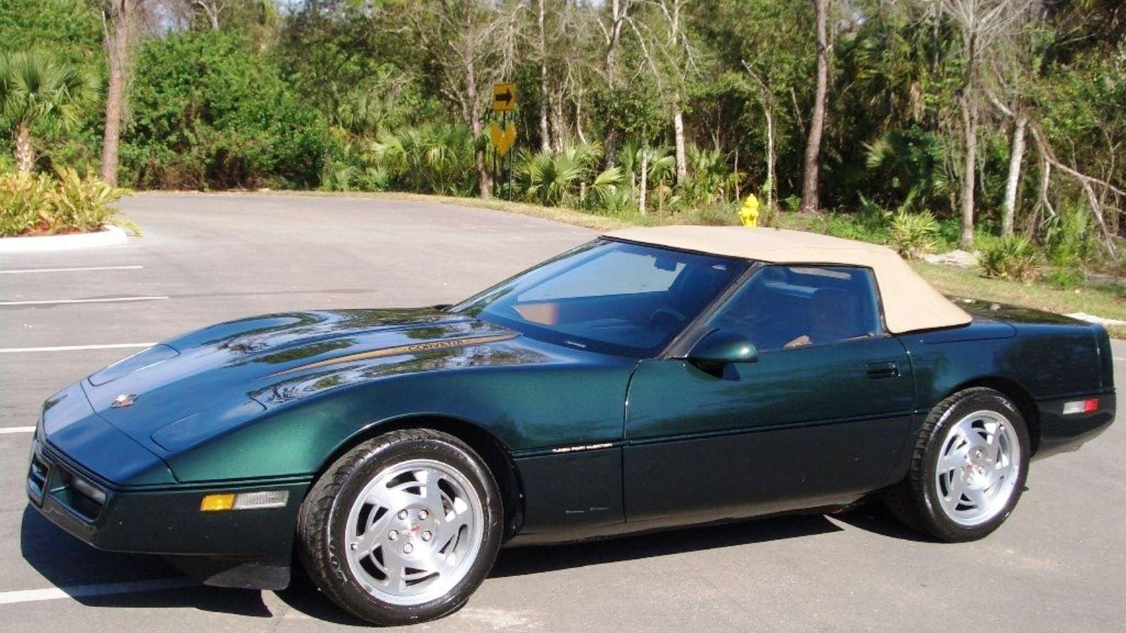 1990-96 Corvette in Polo Green