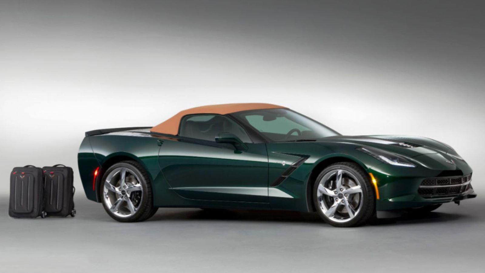 2014-2015 Corvette in Lime Rock Green