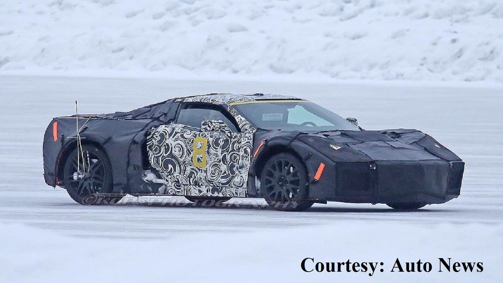 The widely anticipated upcoming Corvette