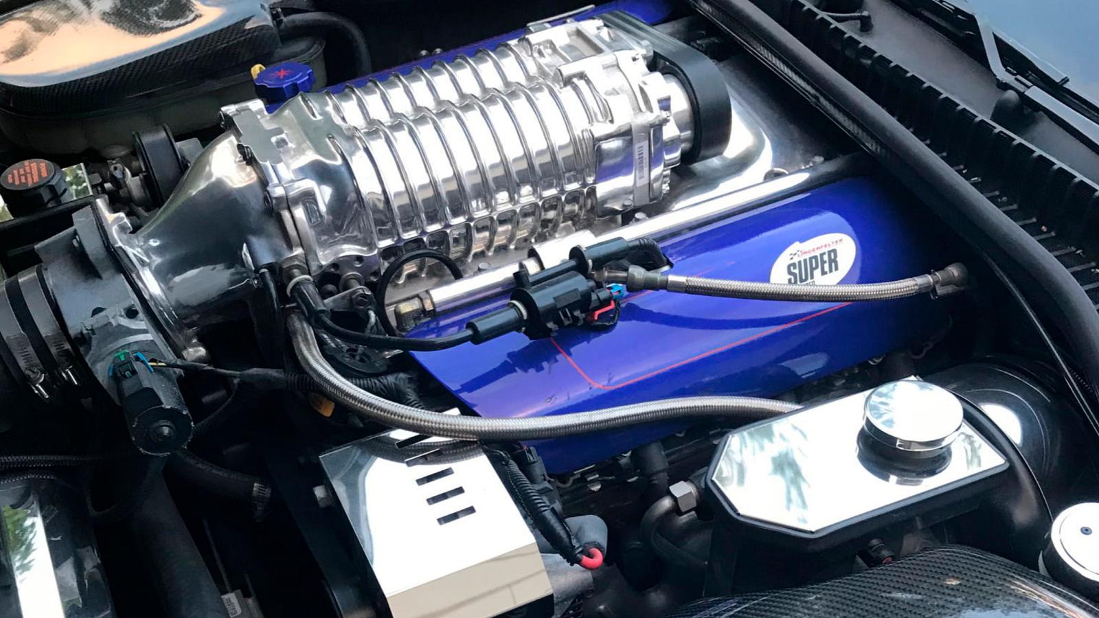 Widebody Lingenfelter C5 Corvette Packs 835 Hp Punch
