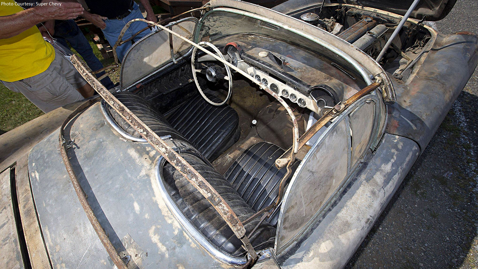 Pair of C1 Corvettes Equal Ultimate Barn Find