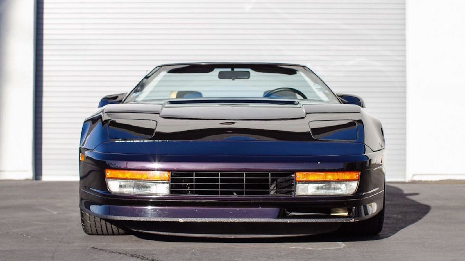 Testarossa-Bodied C4 Corvette is Shameful and Amazing