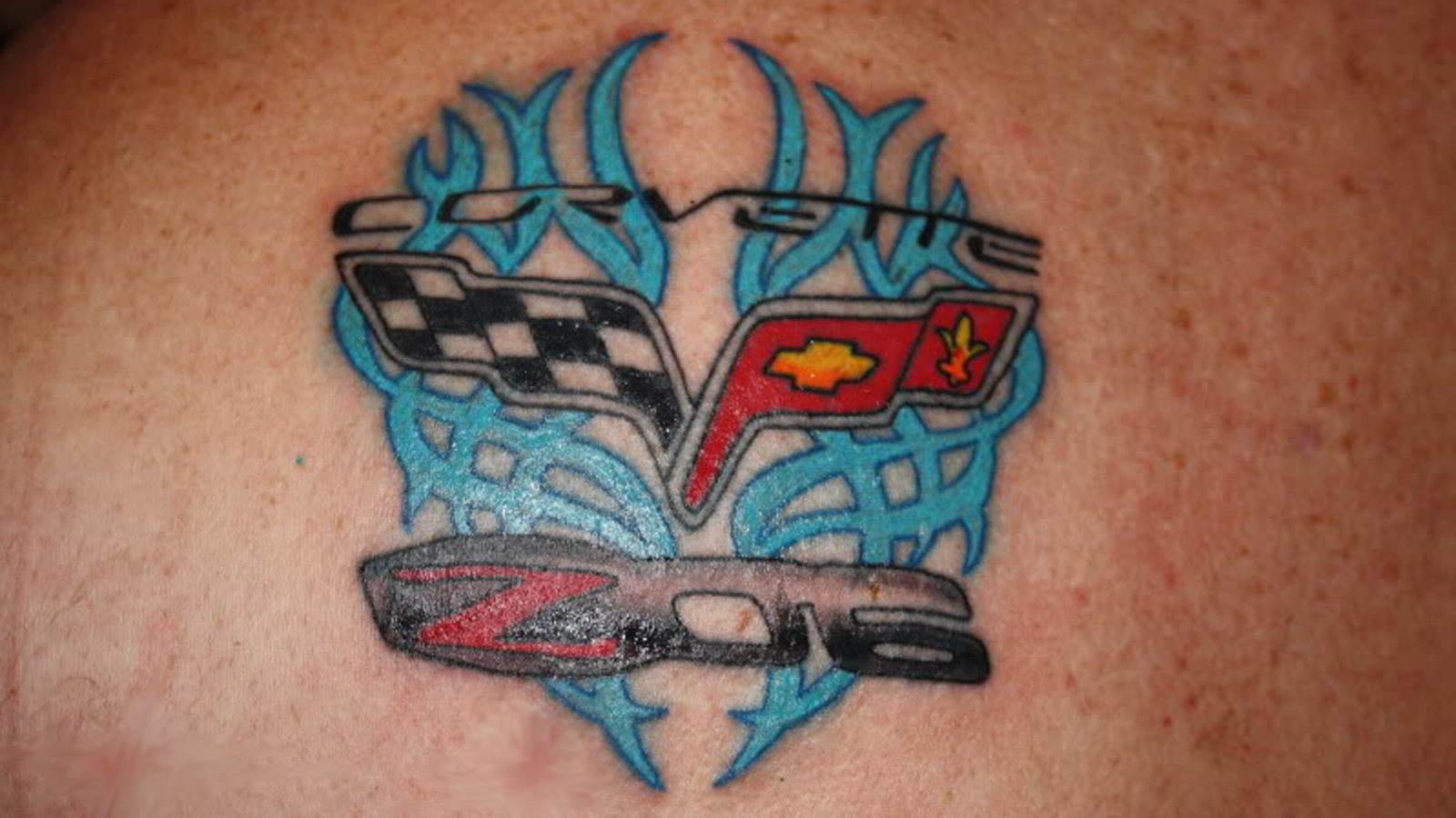 Unique Z06 Tattoo