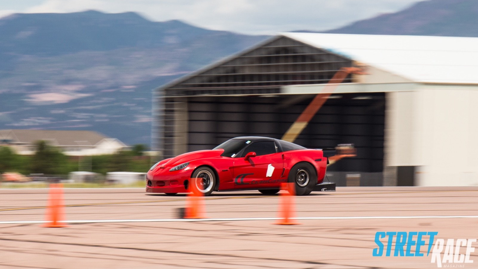Quarter Mile C6 Goes 346ft Per Second