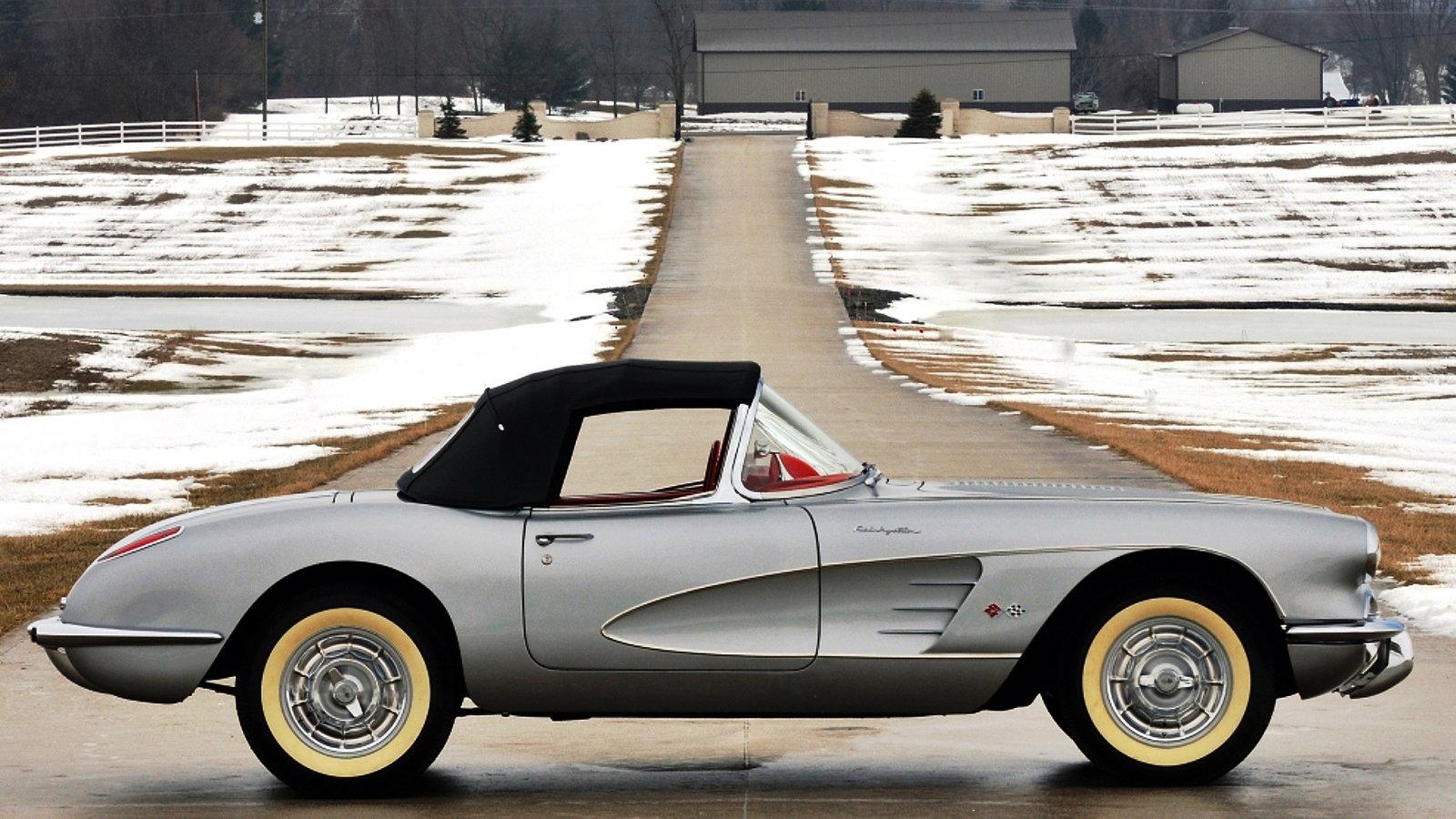 1956-57 Corvette Inca Silver Metallic
