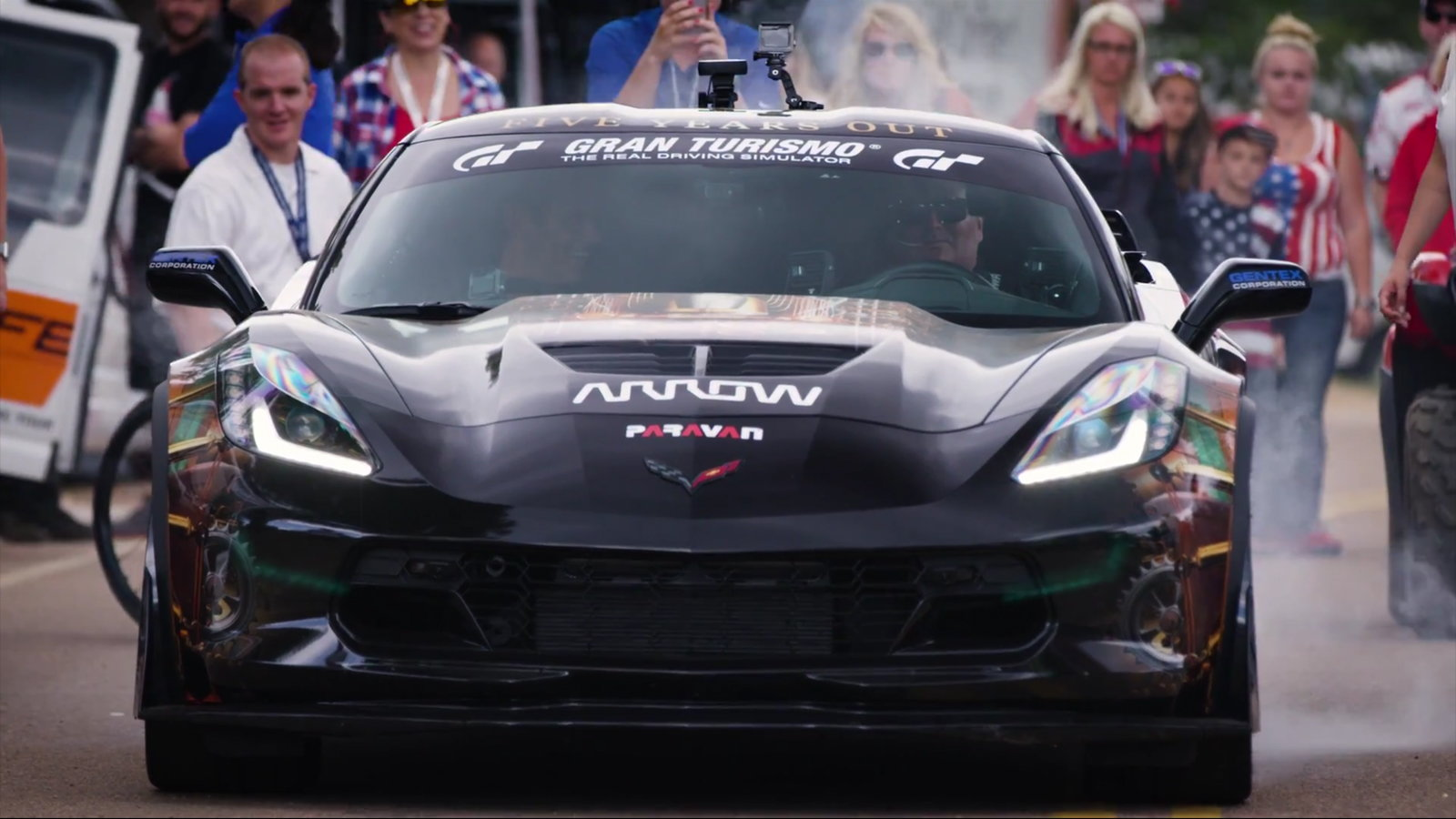 Arrow's C7 Sam Schmidt