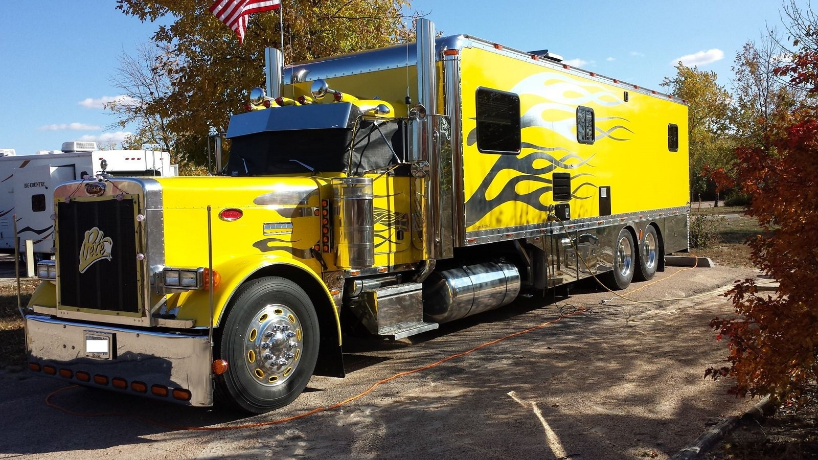 Semi trucks and big rigs