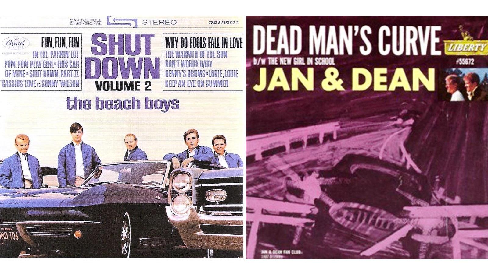 4. The Beach Boys, and Jan & Dean