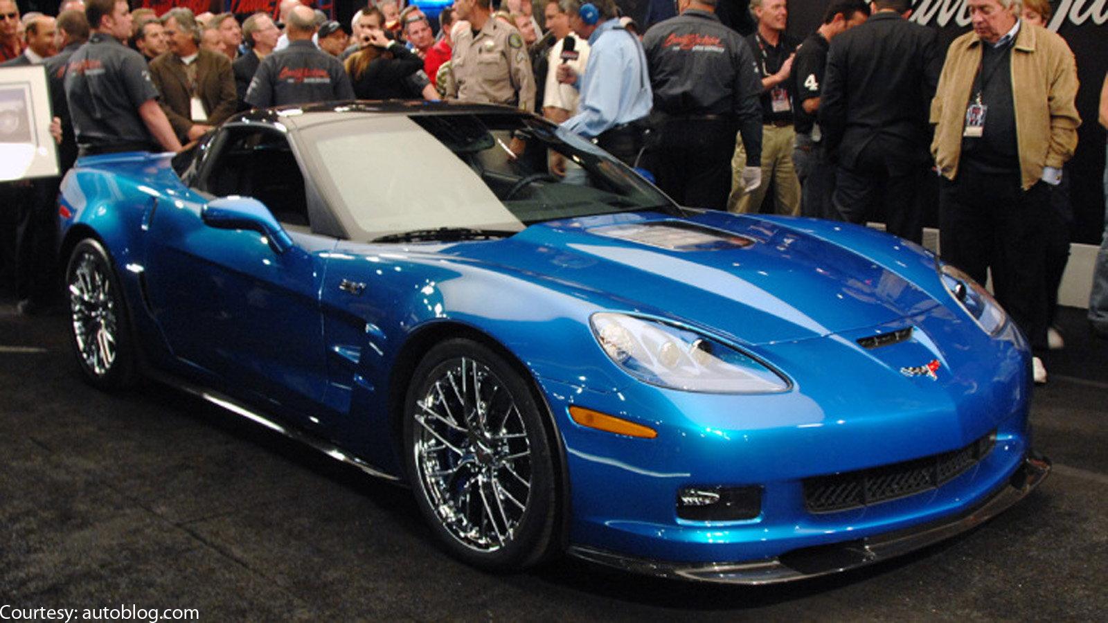 First 2009 Corvette ZR1