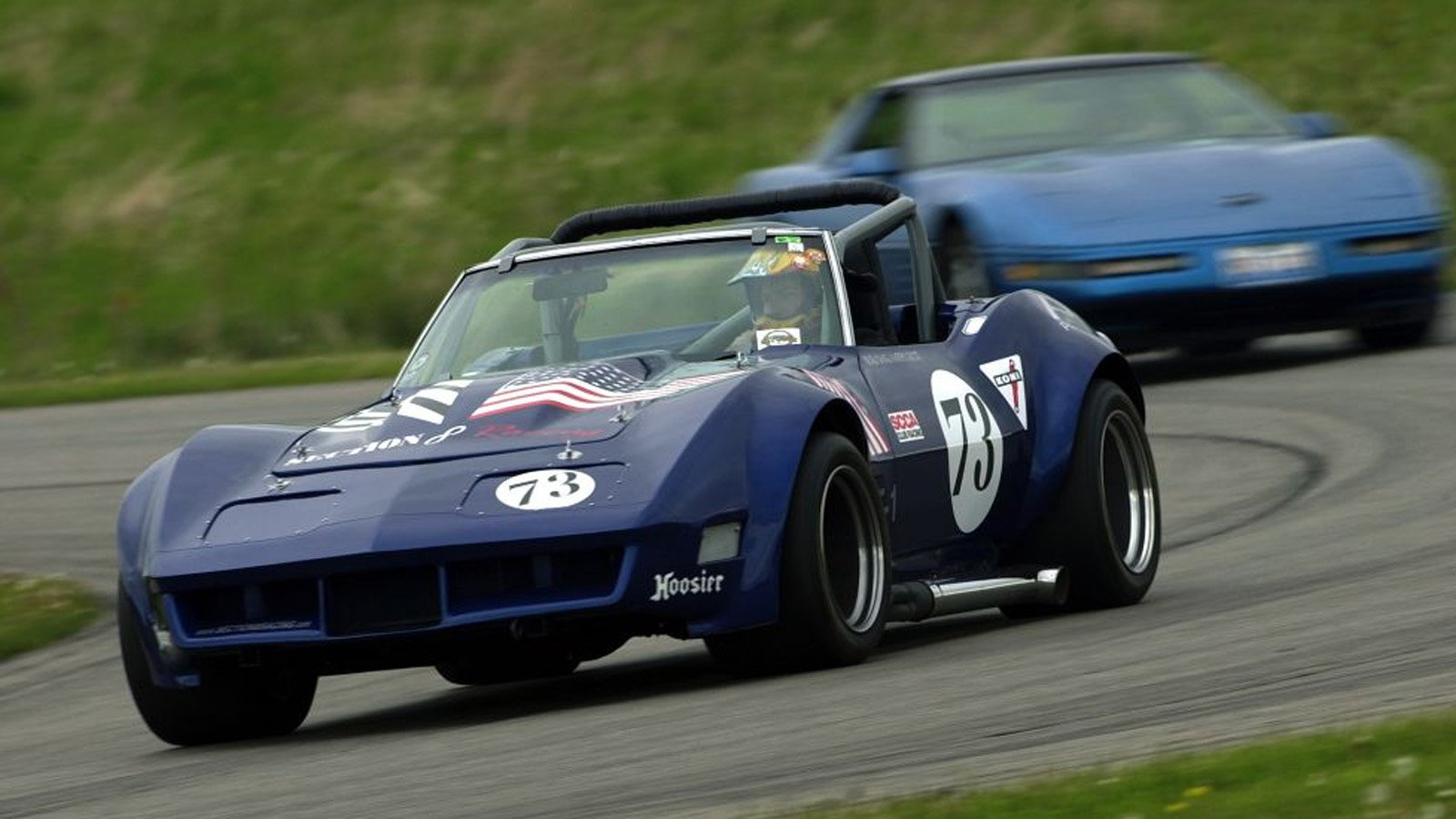 C3 Corvettes Tearing it up on the Track