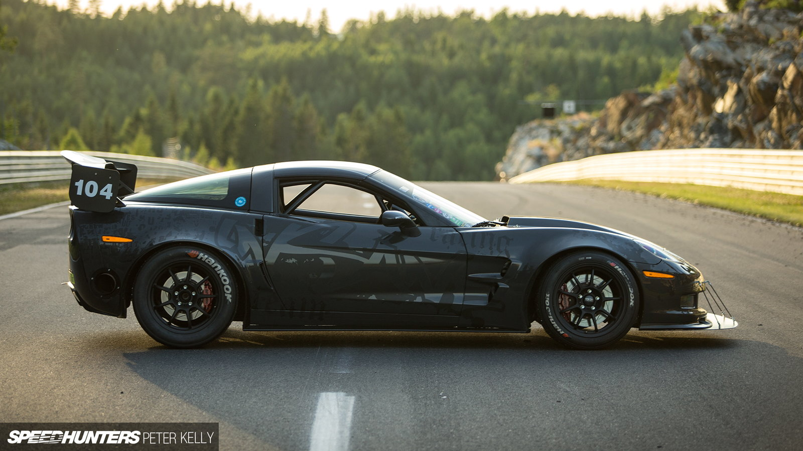 Z06 1,200 HP Swedish Time Attack
