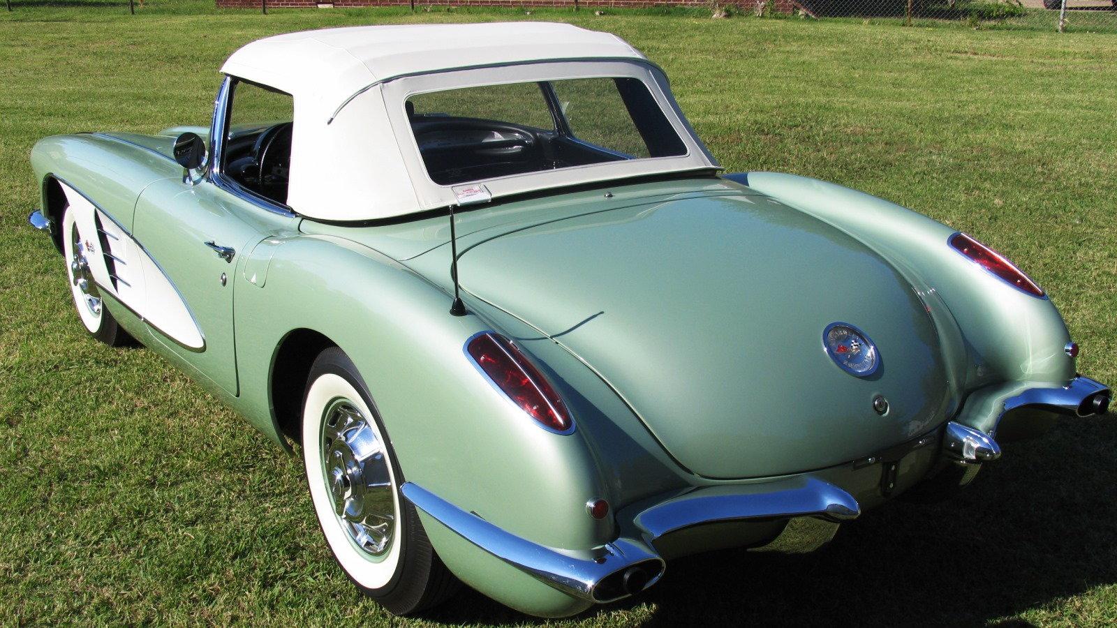 1960 Corvette in Cascade Green