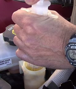 How To Remove Hydraulic Fluid From Car Paint