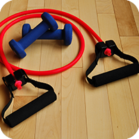 image is resistance bands.