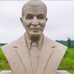 bust of George Washington Carver