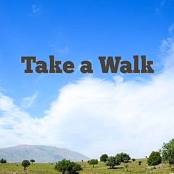 Take a walk day logo