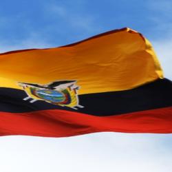 National flag of Equador
