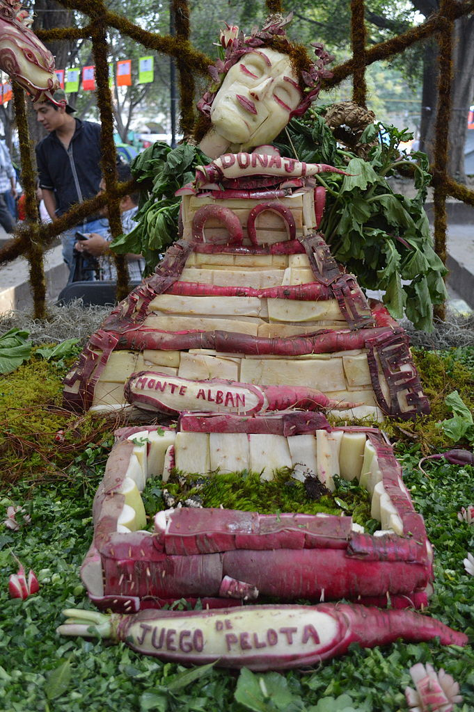mexican radish festival