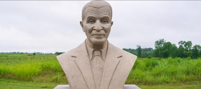 bust of George Washington Carver