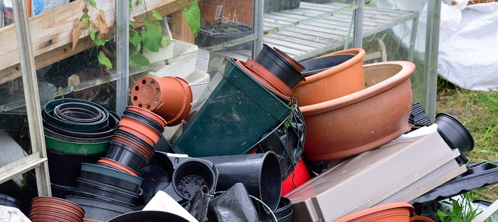 saved garden containers