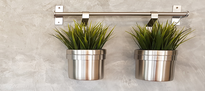 metal can planters