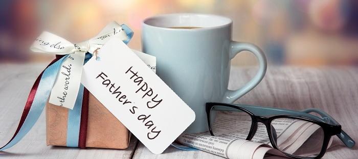 coffee mug, glasses and father's day gift