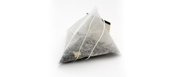 Folded  Filled Satchet