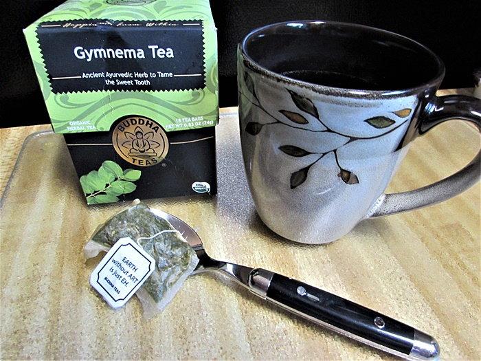buddha tea and box