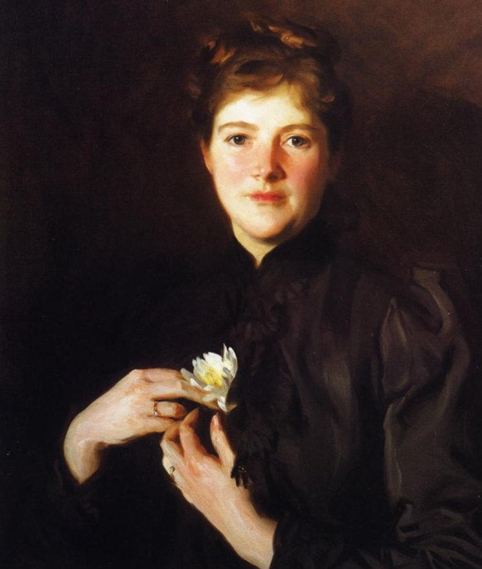 portrait of Harriet Hemenway