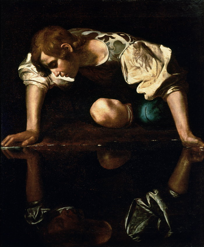 The god Narcissus