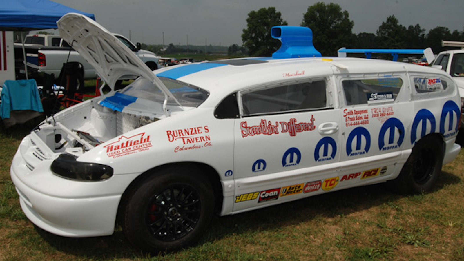 The Mysterious 1996 Dodge Caravan Custom