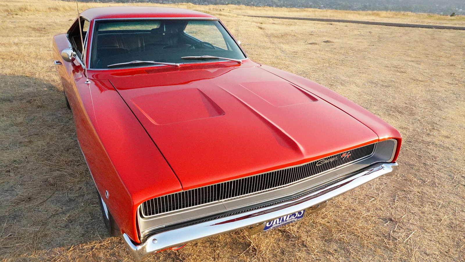 Beautifully Restored 1968 Charger 440 R/T Came from a Field