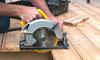 Cutting deck boards with a circular saw