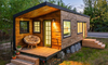 A tiny home with wheels