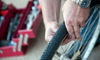 Repairing a bicycle tire