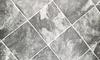 grey and white vinyl tiles