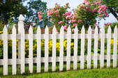 Spaced Picket Style Fence