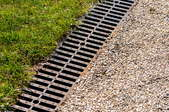 A French drain.