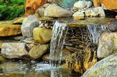 A waterfall.