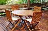 5 Types of Teak Wood Patio Furniture