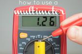 A multimeter.
