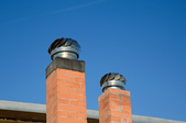 Two chimneys side by side