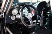 a steering wheel