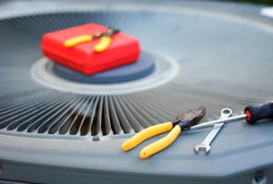 An air conditioner and tools for service