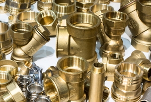 various gold-colored Radiator Fittings