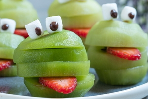 kiwi frog fruit treat healthy snacks
