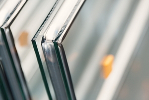 window glass with multiple panes sealed together