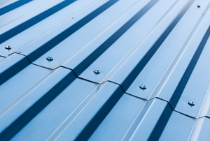 clean metal roofing sheets