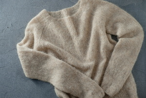 A cashmere sweater.